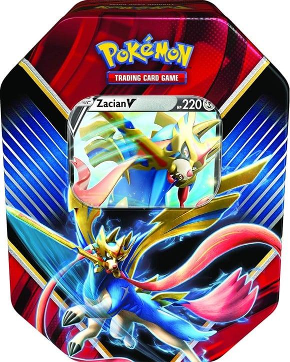 Pokemon - Tin Summer 2020 - Legends of Galar - Zacian (POK80778A)