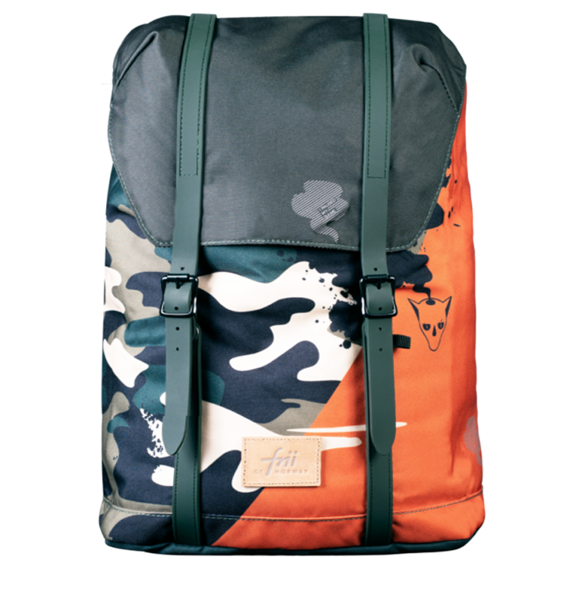 Frii of Norway - Skolesekk (28L) - Camo