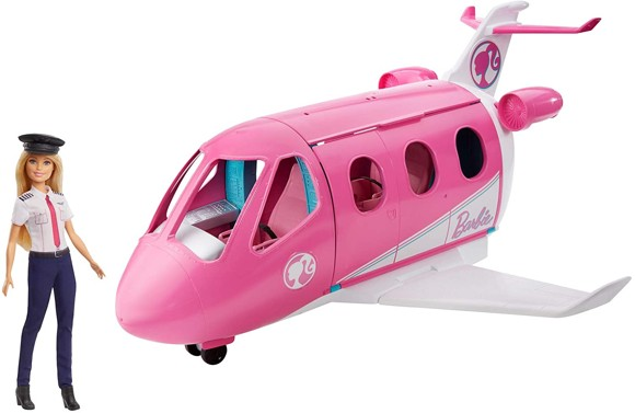 Barbie - Dream Plane with Pilot Doll (GJB33)