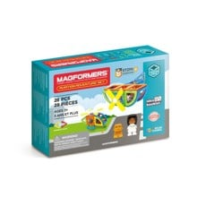 Magformers - Aviation Adventure Sæt 28 dele (3105)