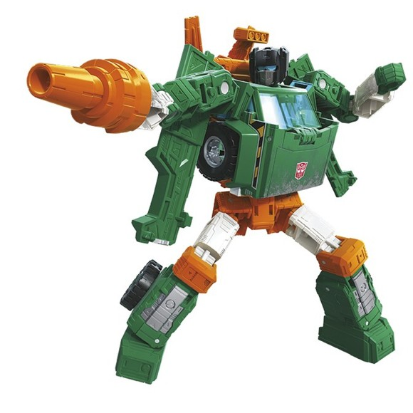 Transformers - Generations Deluxe - Earthrise Hoist (E7154)