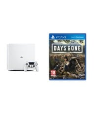 Playstation 4 Pro White Console - 1 TB (Nordic) + Days Gone (Nordic)