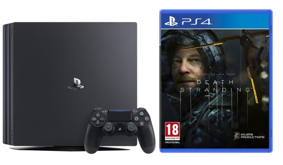 Playstation 4 Pro Console - 1 TB (Nordic) + Death Stranding (Nordic)