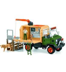 Schleich - Stor lastbil til dyreredning (42475)