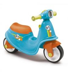 Smoby - Gå-Bil - Scooter - Blå