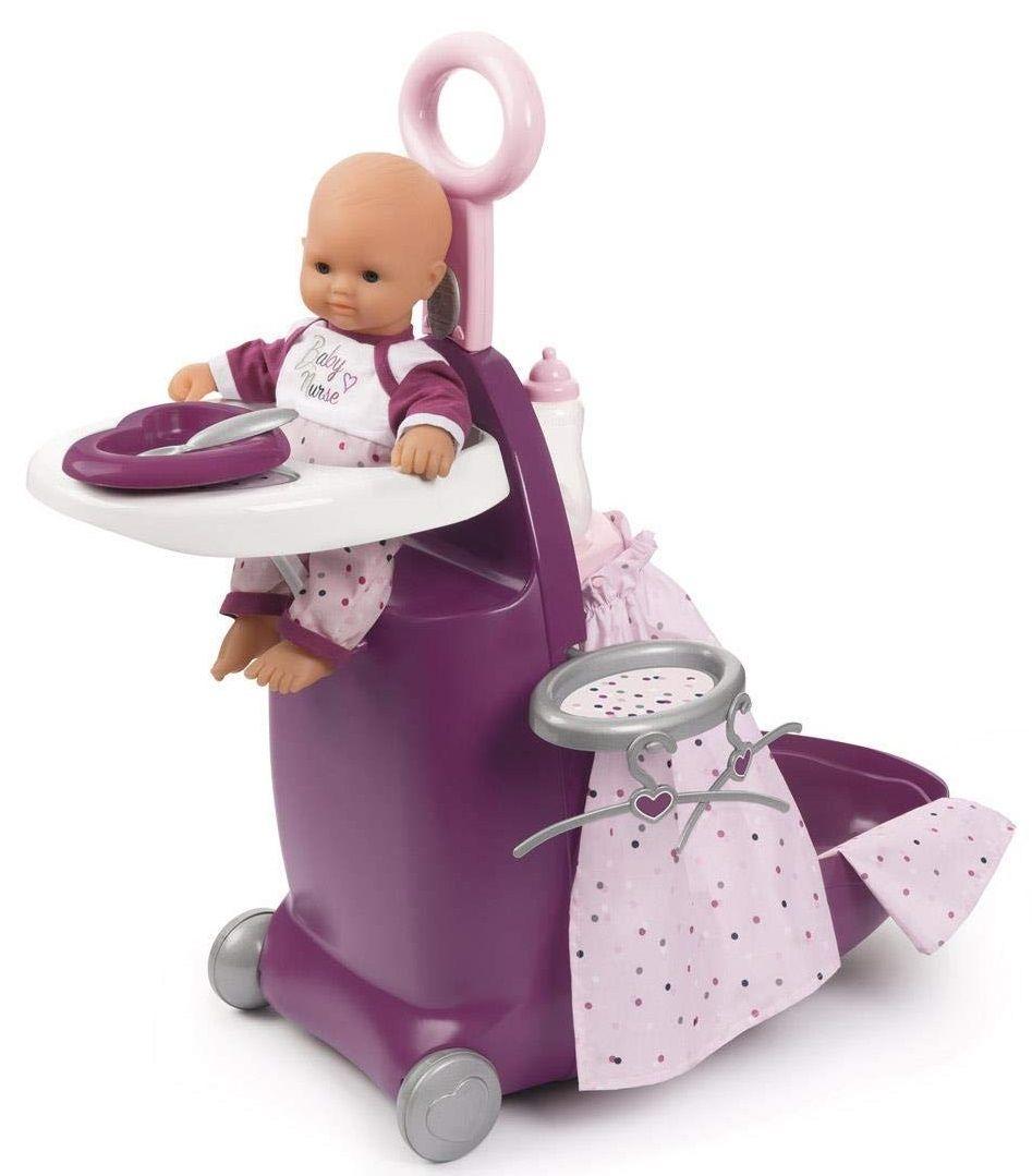 Smoby - Baby Nurse - Nursery Suitcase 3-in-1 (I-7220346)