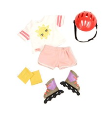 Our Generation - Dolls Outfit - Roll With It Rollerblades (730242)
