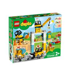 LEGO DUPLO - Byggeplads med tårnkran (10933)