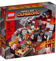 LEGO Minecraft - Rødstensslaget (21163)