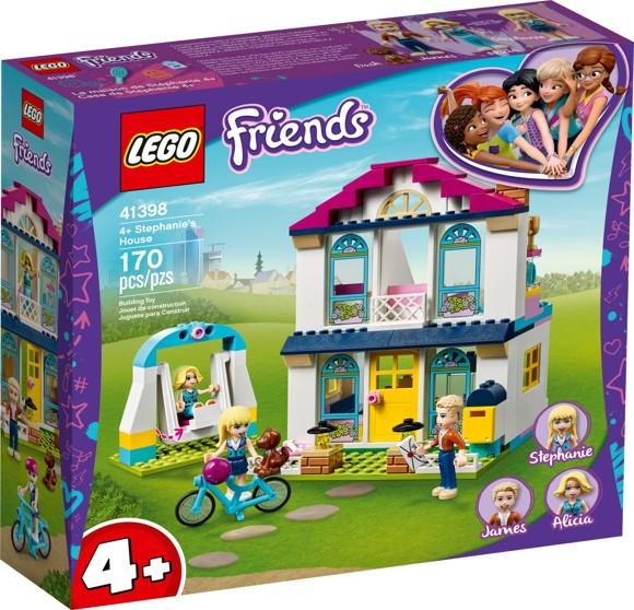 LEGO Friends - 4+ Stephanie's House (41398)