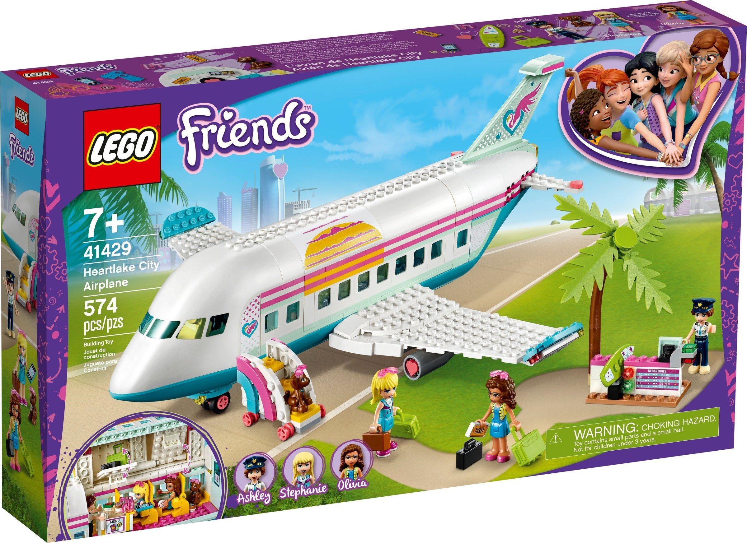 LEGO Friends - Heartlake City Airplane (41429)