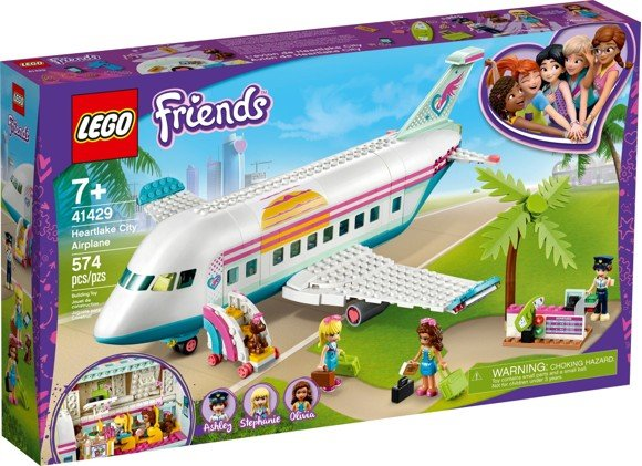 LEGO Friends - Heartlake flyvemaskine (41429)