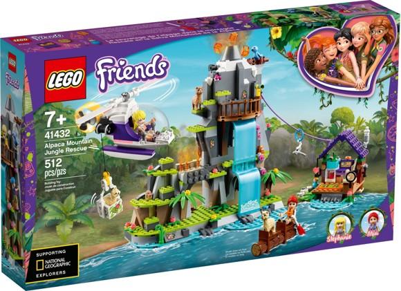 LEGO Friends - Alpaca Mountain Jungle Rescue (41432)