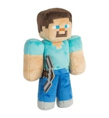 """Minecraft 12"""" Steve Plush with Hang Tag"""