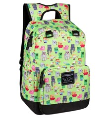 Minecraft 17 Overworld Sprites Backpack Multicolor