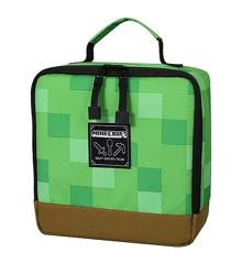 "Minecraft Blocks Lunch Box 8.5""x 8.5""x 4 Green"