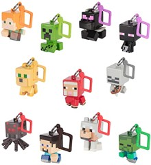 Minecraft Bobble Mobs Blind Packs Series 1-1 Box-Multicolor