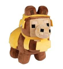 Minecraft Happy Explorer Baby Llama Brown Plush