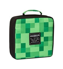 Minecraft Miner's Society Lunch Box Green