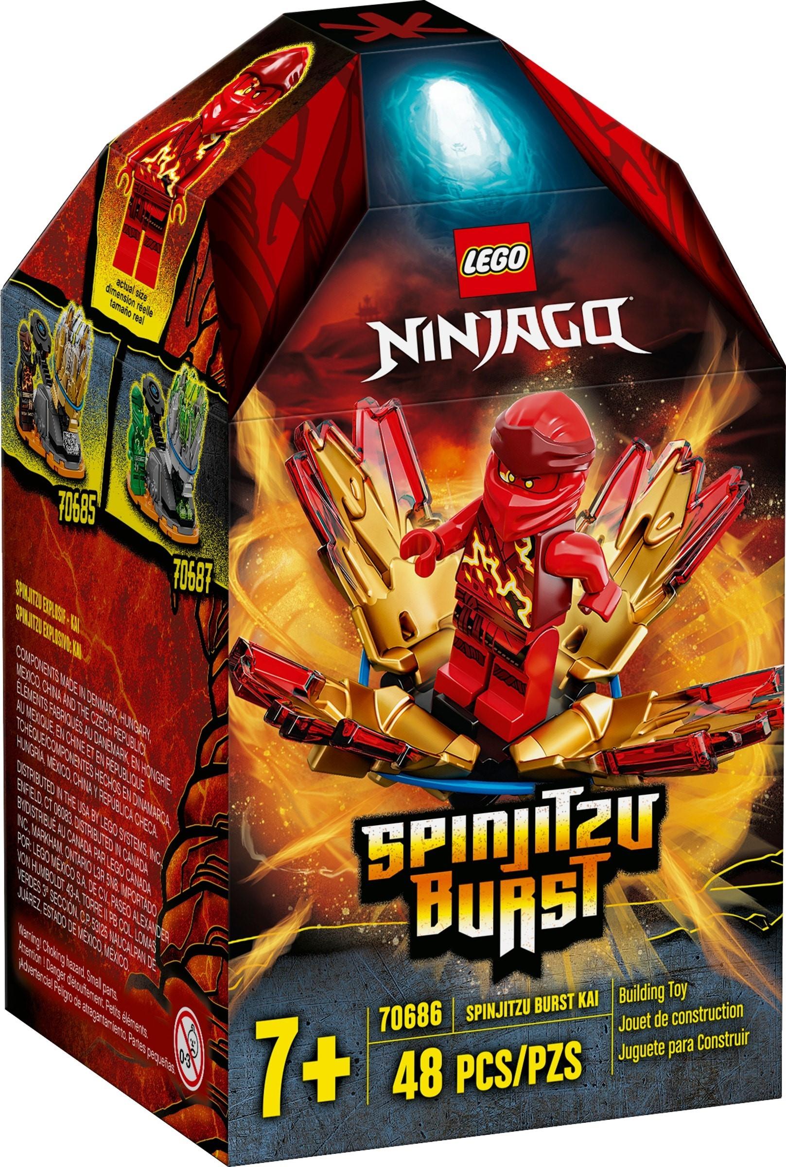 LEGO Ninjago - Spinjitzu Burst - Kai (70686)