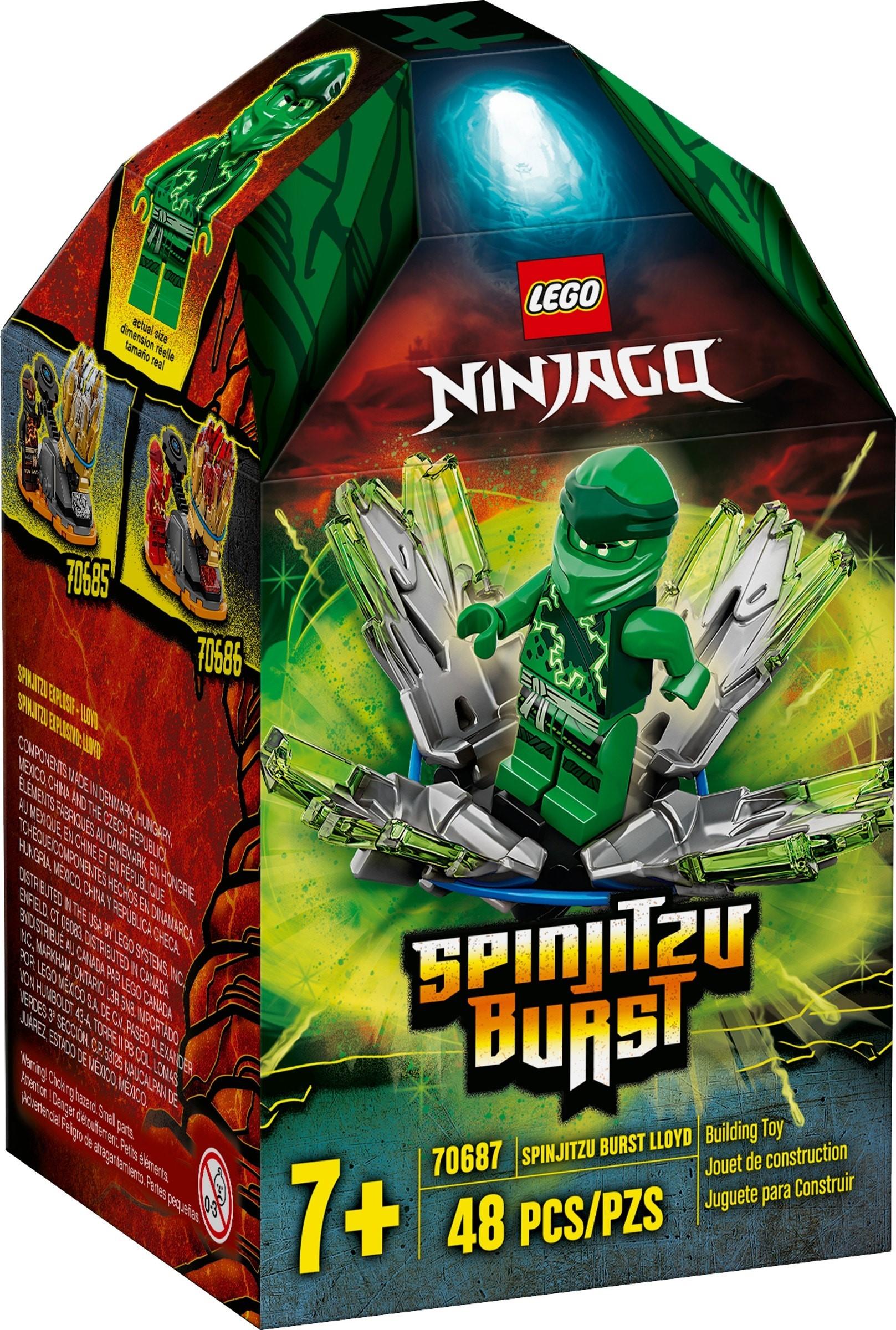 LEGO Ninjago - Spinjitzu Burst - Lloyd (70687)