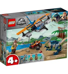 LEGO Jurassic World - Velociraptor: Flyredningsmission (75942)