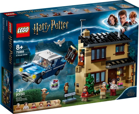 LEGO Harry Potter - 4 Privet Drive (75968)