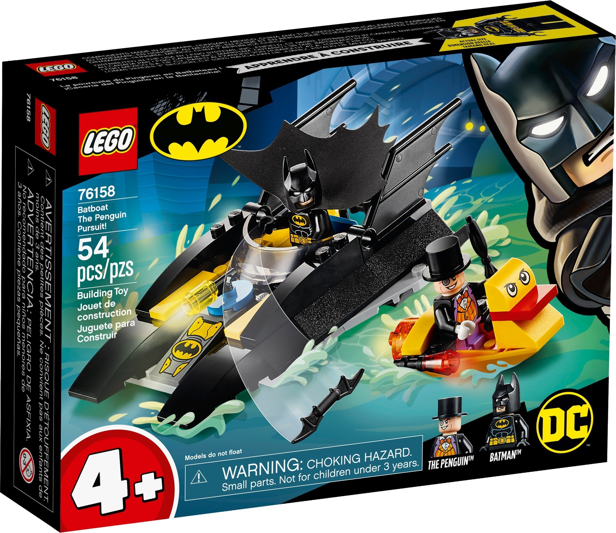 LEGO Super Heroes - Batboat The Penguin Pursuit! (76158)