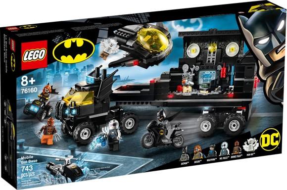 LEGO Super Heroes - Mobil batbase (76160)