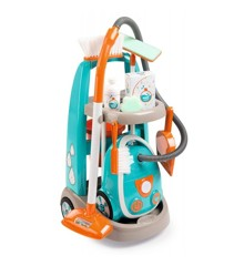 Smoby - Cleaning Trolley + Vaccum Cleaner (I-7330309)