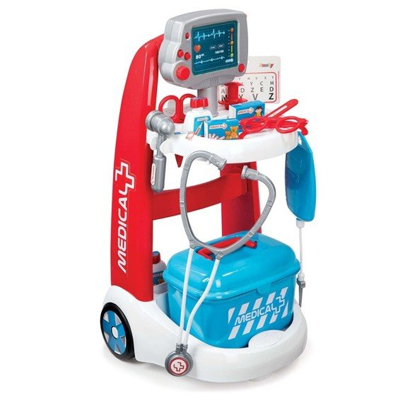 Smoby - Medical Rescue Trolley (I-7340202)