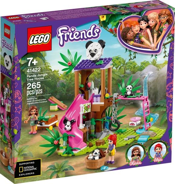 LEGO Friends - Panda Jungle Tree House (41422)
