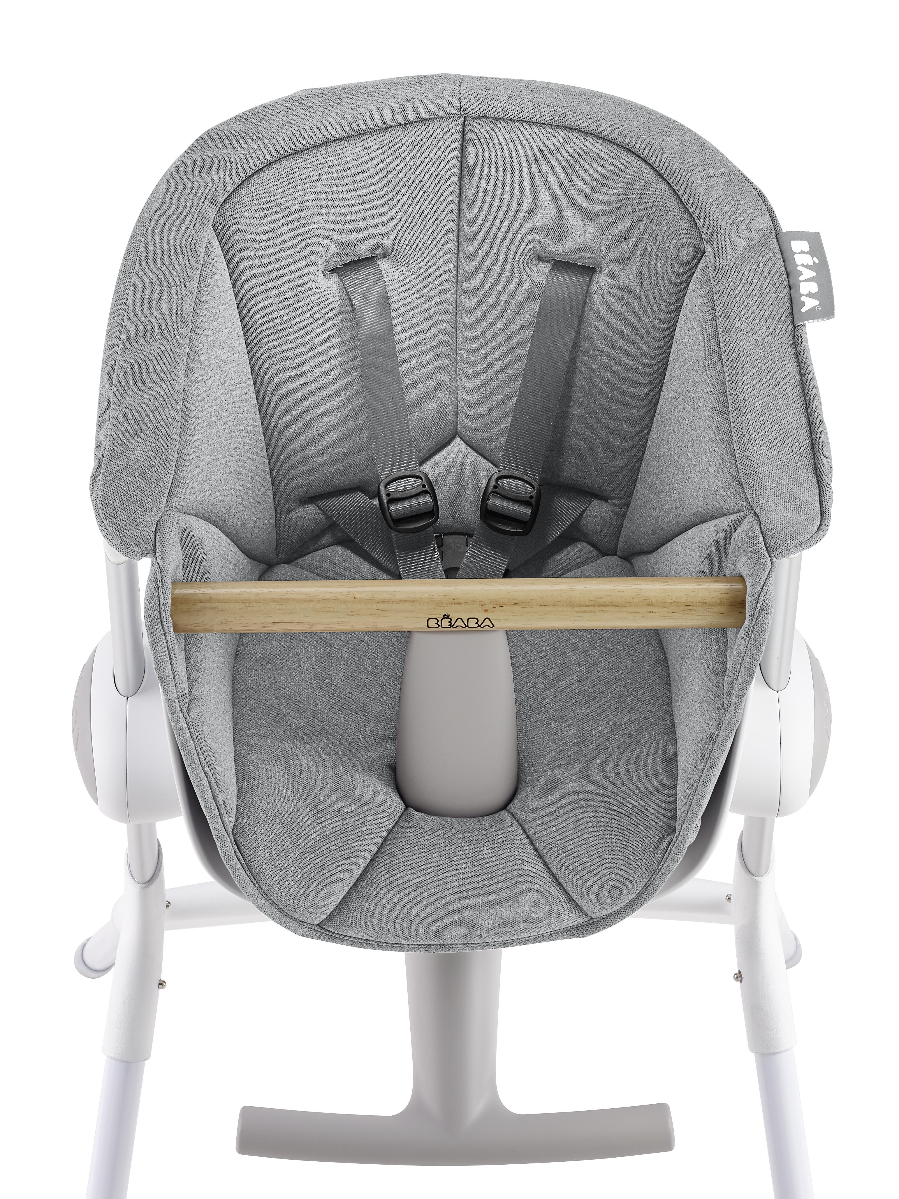 Béaba - Up&Down High Chair Cushion - Grey