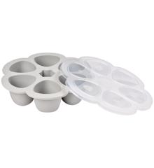 Béaba - Silicone Multiportions 6*150 ml - Grey