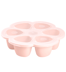 Béaba - Silicone Multiportions 6*90 ml - Pink