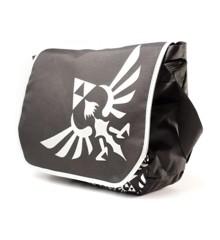 Zelda - Messenger Bag Silver Logo