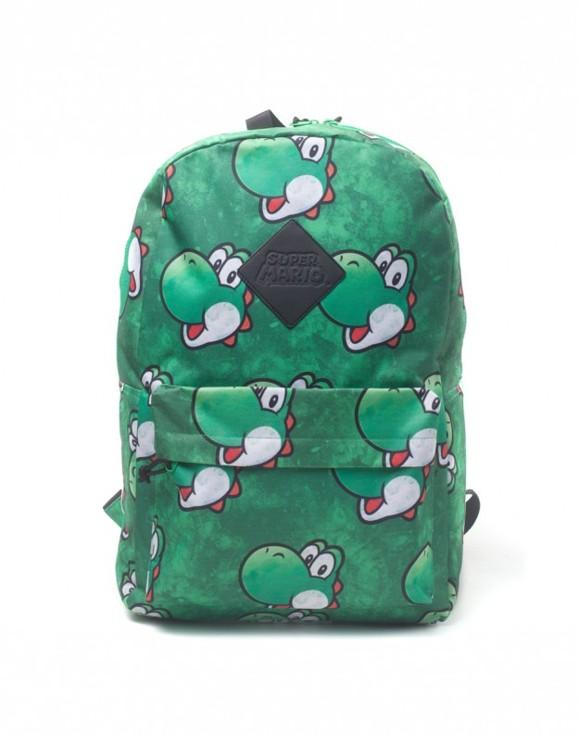 Nintendo - Yoshi Face Sublimation Print Backpack