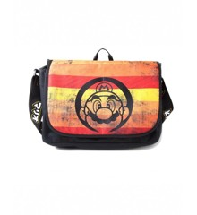 Nintendo - Super Mario Retro Striped Messenger Bag