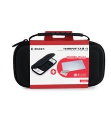 Nintendo Switch Big Ben Lite Protection Kit (Case - S + Tempered Glass)