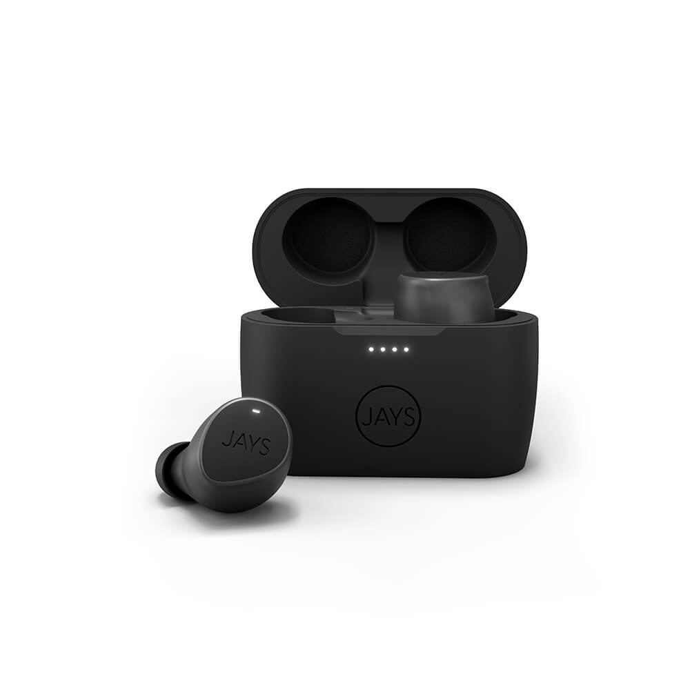 Jays - Seven TWS True Wireless In-Ear Headphones - Black