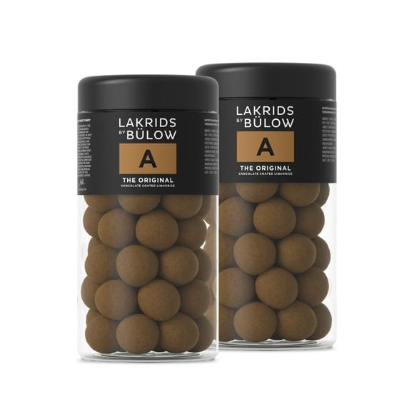 Lakrids By Bülow - 2 x Regular A - The Orginal 295 g