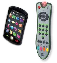 Tech-Too Duo Set, Fjernbetjening og Smartphone