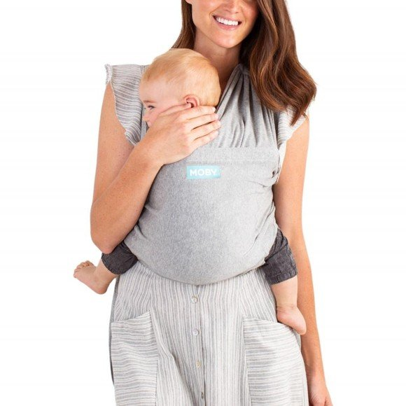 Moby - Fit Hybrid Baby Carrier, Grey