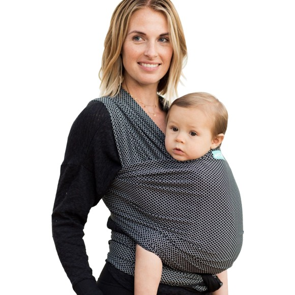 Moby - Wrap Flex Mesh Baby Carier, Black