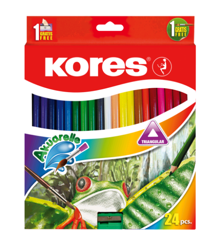 Kores - 24 Akuarelle Farveblyanter