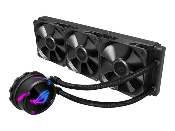 Asus - Rog Strix LC 360 CPU Cooler with Aura Sync