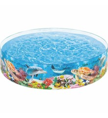 INTEX- Deep Blue Sea Snapset Pool (58472)