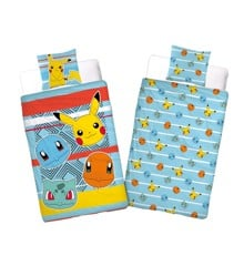 Bed Linen - Adult Size 140 x 200 cm - Pokemon (POK246)