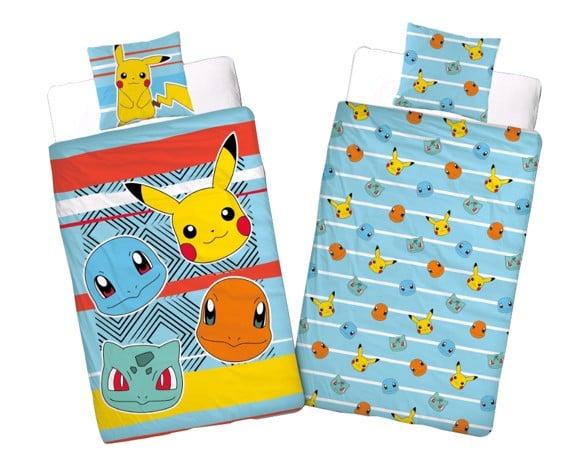 Sengetøj - Voksen str. 140 x 200 cm - Pokemon