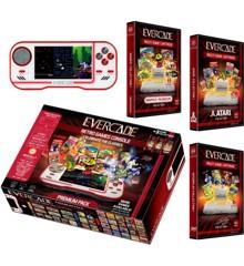 Blaze Evercade Premium Pack +3 Vol 1 (Hvid) (37 spil medfølger)